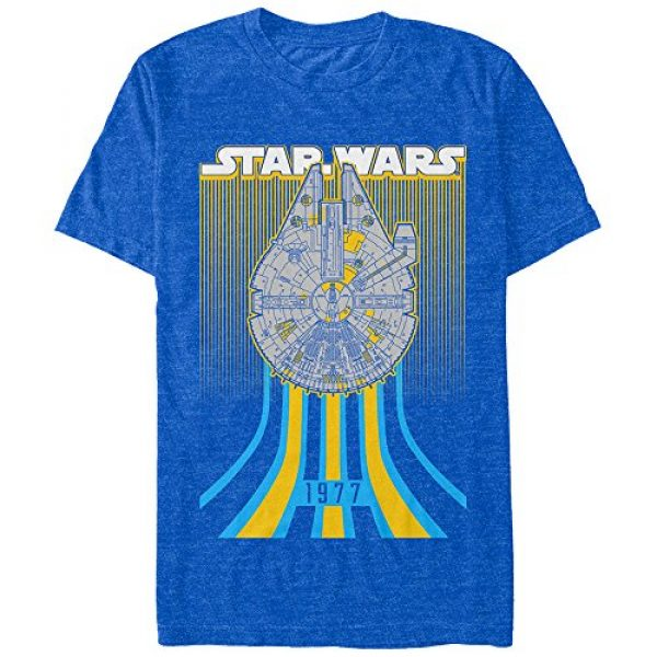 Star Wars Graphic Tshirt 1 Men's Falcon Speed Graphic T-Shirt