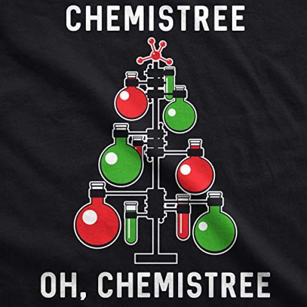 Crazy Dog T-Shirts Graphic Tshirt 2 Womens Chemistree T Shirt Funny Sarcastic Teacher Christmas Tee Nerdy Graphic