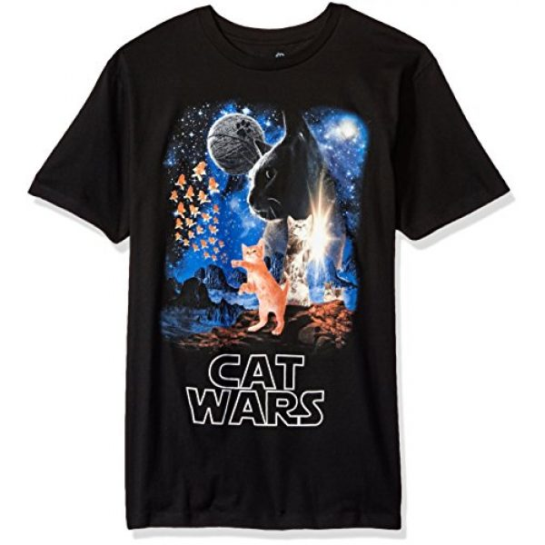 Goodie Two Sleeves Graphic Tshirt 1 Humor Cat Wars Type Adult T-Shirt