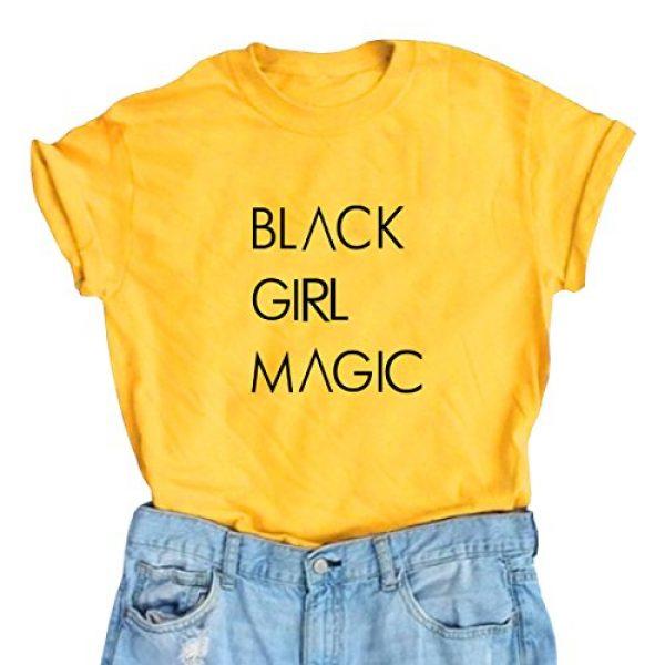 BLACKOO Graphic Tshirt 1 Women Fashion Summer T-Shirts Casual Crewneck Girl Tops Tee