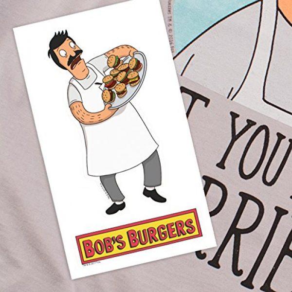Popfunk Graphic Tshirt 6 Bob's Burgers You're All Terrible T Shirt & Stickers
