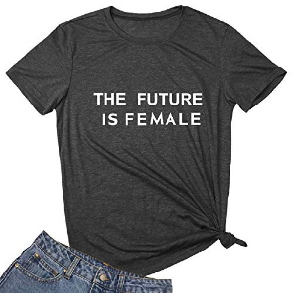 MAXTREE Graphic Tshirt 1 Women Graphic T Shirts The Future is Female Tees