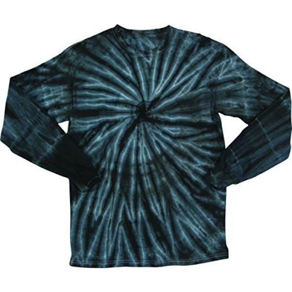 2Bhip Graphic Tshirt 2 Faded Cyclone Unisex Adult Tie Dye Long Sleeve T-Shirt Tee