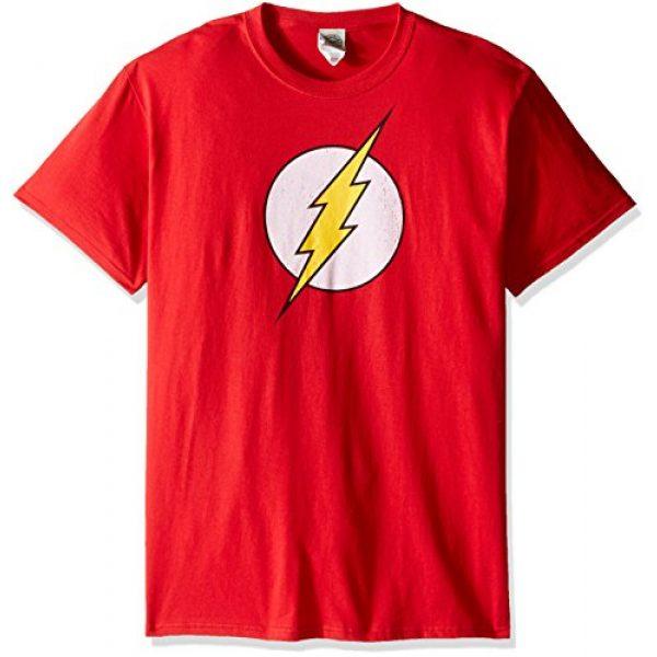 DC Comics Graphic Tshirt 1 Men's The Flash Distressed Logo T-Shirt