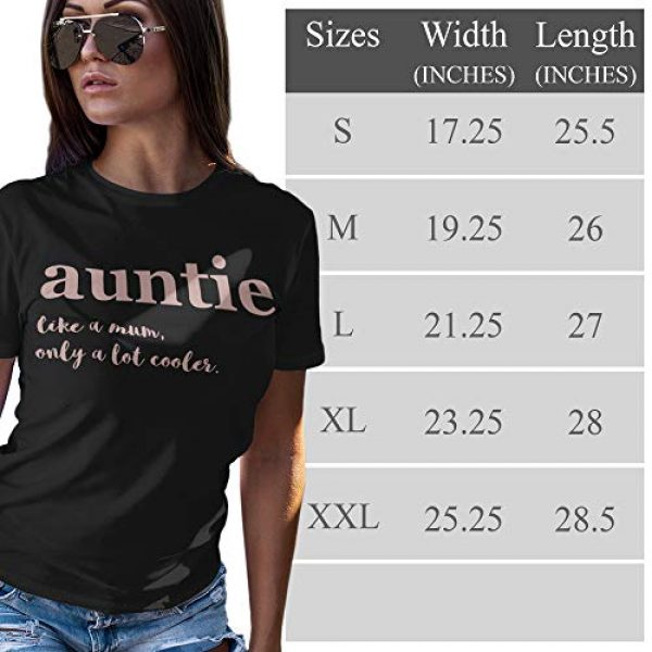Purple Print House Graphic Tshirt 2 Aunt Shirt, Rose Gold Auntie Shirt for Women, Aunt Gifts from Niece, Funny Tshirts, Shirts top Novelty t Shirt