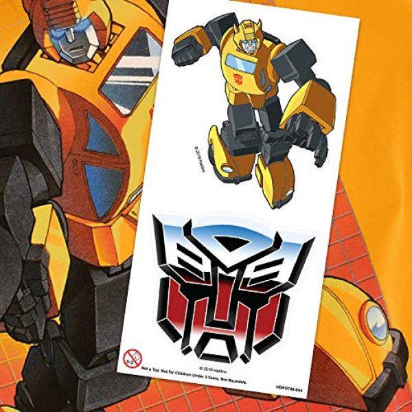 Popfunk Graphic Tshirt 6 Transformers Bumblebee T Shirt & Stickers