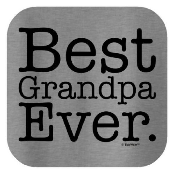 ThisWear Graphic Tshirt 2 Best Grandpa Ever T-Shirt