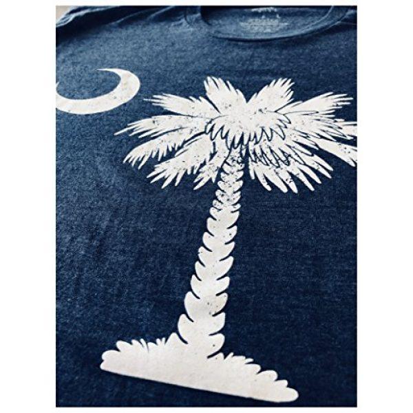 Ann Arbor T-shirt Co. Graphic Tshirt 5 South Carolina Flag | Palmetto Moon Carolinian SC Charleston Men Women T-Shirt
