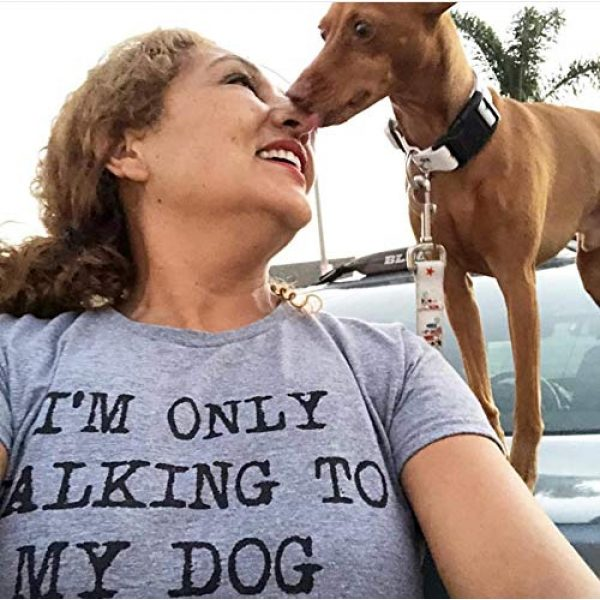 Crazy Dog T-Shirts Graphic Tshirt 7 Womens Only Talking to My Dog Today Funny Shirts Dog Lovers Novelty Cool T Shirt