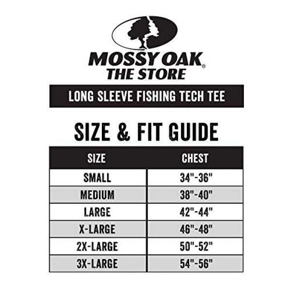 Mossy Oak Graphic Tshirt 7 HUK Mossy Oak Double Header Vented Fishing Long Sleeve Shirt, Mossy Oak Hydro Reflex, L
