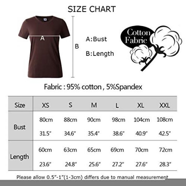 BLACKMYTH Graphic Tshirt 3 Women's T-Shirts Cotton Funny Grahpic Design Casual Short Sleeve Top Tees