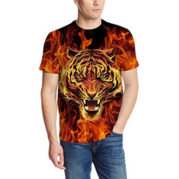 Goodstoworld Graphic Tshirt 1 Unisex Personalized Novelty 3D Printed T-Shirts Short Sleeve Tops Tees