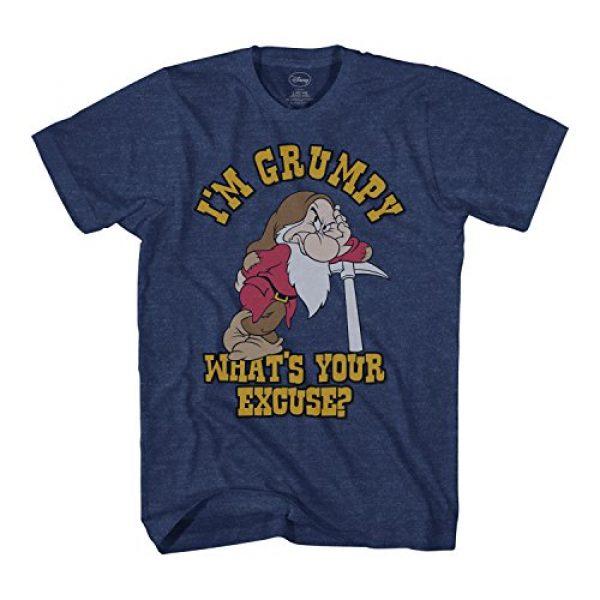 Disney Graphic Tshirt 1 I'm Grumpy Dwarf Snow White Mens T-Shirt