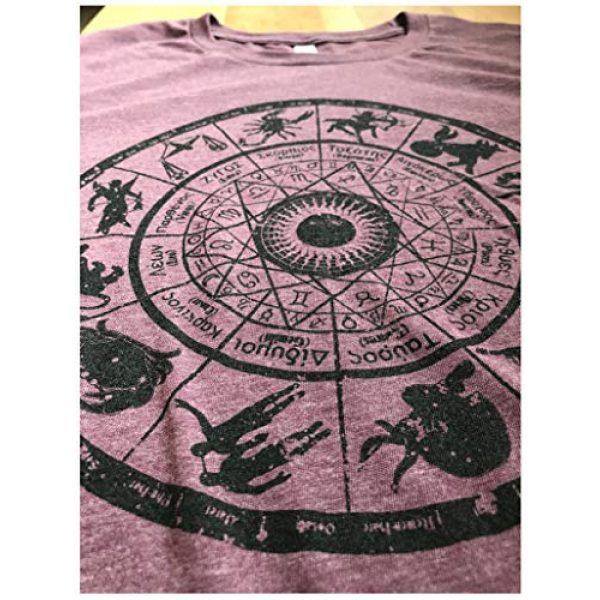Ann Arbor T-shirt Co. Graphic Tshirt 6 Zodiac Wheel | Stylish Horoscope Art Astrology Spiritual Unisex Triblend T-Shirt