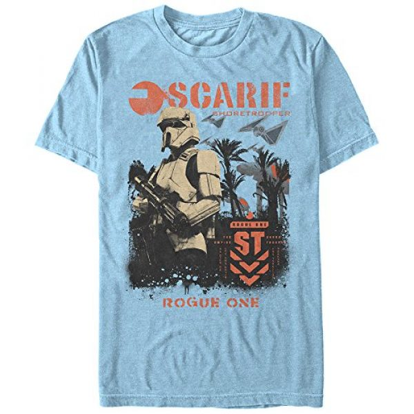 Star Wars Graphic Tshirt 1 Men's Rogue One Shore Lines T-Shirt