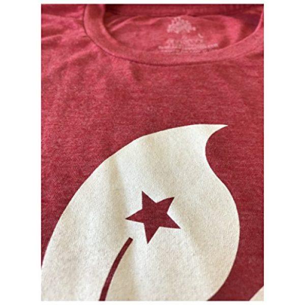 Ann Arbor T-shirt Co. Graphic Tshirt 5 Hong Kong Flag   Bauhinia Orchid Flower HK China Poster Art Kowloon Asia T-Shirt