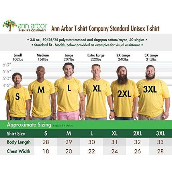 Ann Arbor T-shirt Co. Graphic Tshirt 6 Vintage Style Australia   Aussie Roo + Southern Cross Unisex Triblend T-Shirt
