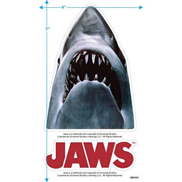 Popfunk Graphic Tshirt 3 Jaws Shark Original Movie Poster T Shirt & Stickers