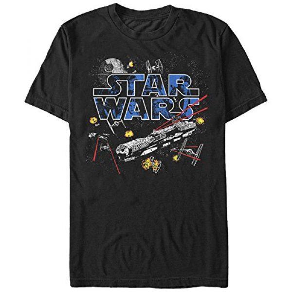 Star Wars Graphic Tshirt 1 Men's Flight of the Falcon Graphic T-Shirt