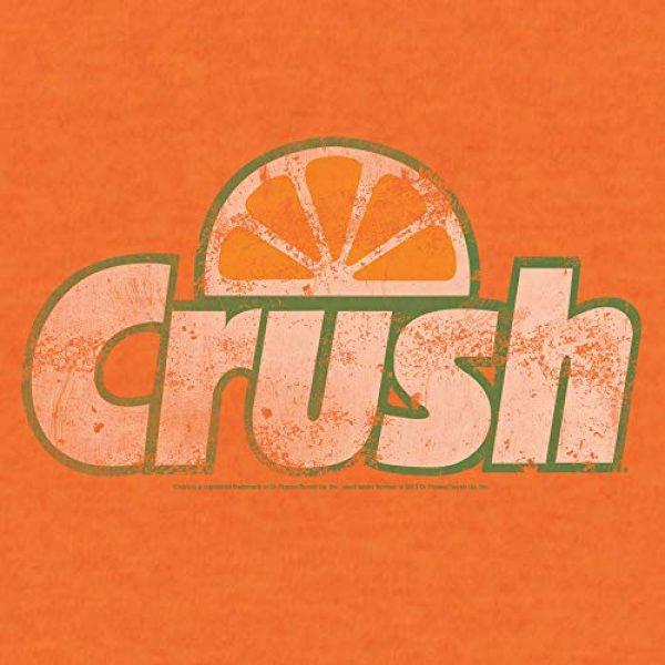 Tee Luv Graphic Tshirt 2 Orange Crush T-Shirt - Vintage Crush Soda Logo Graphic Tee Shirt