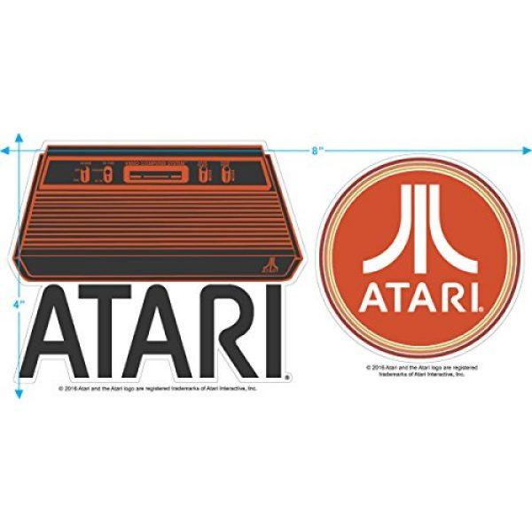 Popfunk Graphic Tshirt 3 Atari Video Game Retro Logo Vintage Gaming Console T Shirt & Stickers