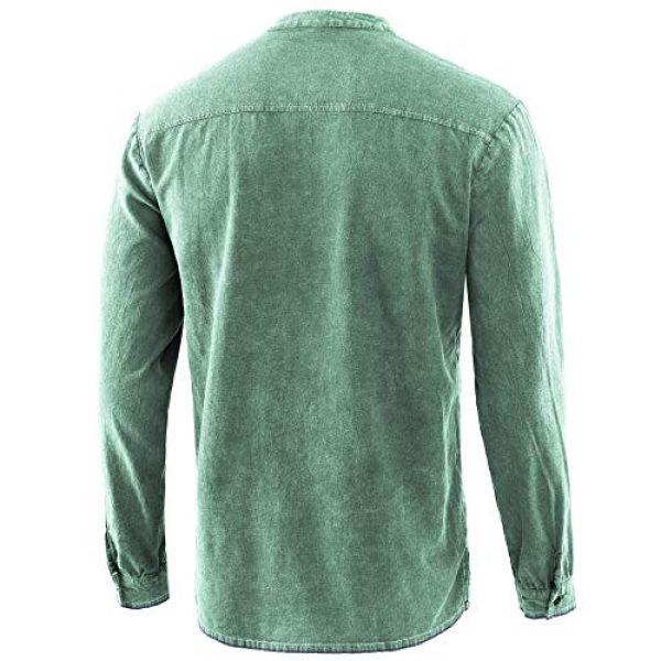 Moomphya Graphic Tshirt 2 Men's Medieval Retro Lace-up V-Neck Cotton Linen Gothic Long Sleeve T-Shirts