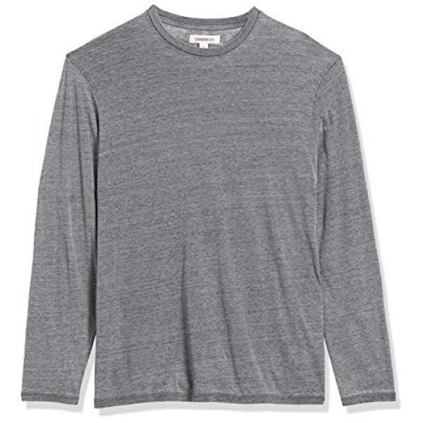 Goodthreads Graphic Tshirt 6 Amazon Brand - Goodthreads Men's Lightweight Burnout Long-Sleeve Crewneck T-Shirt