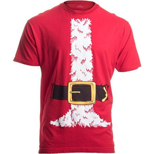 Ann Arbor T-shirt Co. Graphic Tshirt 1 Santa Claus Costume   Jumbo Print Novelty Christmas Holiday Humor Unisex T-Shirt