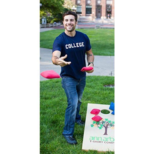 Ann Arbor T-shirt Co. Graphic Tshirt 5 College | Animal American Drinking 70s House Comedy Unisex T-Shirt Men Women
