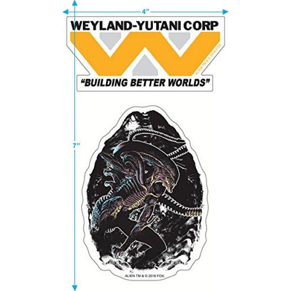 Popfunk Graphic Tshirt 3 Alien Movie Weyland-Yutani The Company T Shirt & Stickers