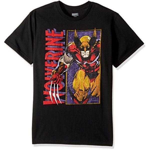 Marvel Graphic Tshirt 1 Men's Wolverine Classic Character T-Shirt