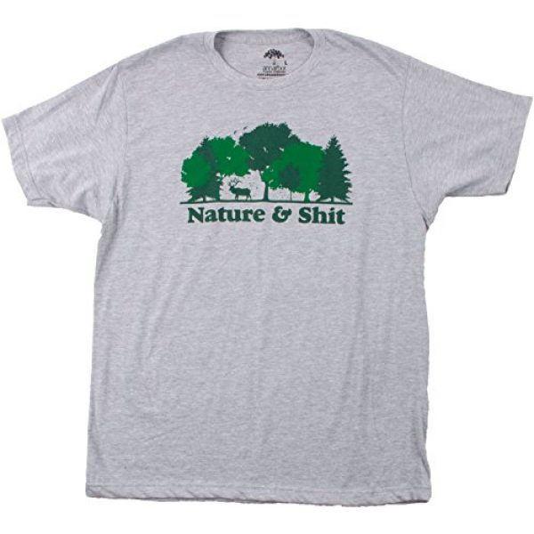 Ann Arbor T-shirt Co. Graphic Tshirt 3 Nature & Shit | Funny Outdoors Humor, Ironic Hiking Adventure Unisex T-Shirt