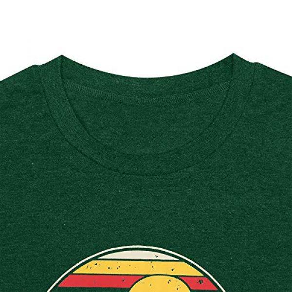 GEMLON Graphic Tshirt 3 Women Mountain Sunset T-Shirt Graphic Camping Hiking Shirt Vintage Tees Short Sleeve Tee Tops
