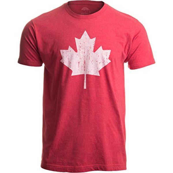 Ann Arbor T-shirt Co. Graphic Tshirt 1 Canada Pride   Vintage Style, Retro-Feel Canadian Maple Leaf Unisex T-Shirt