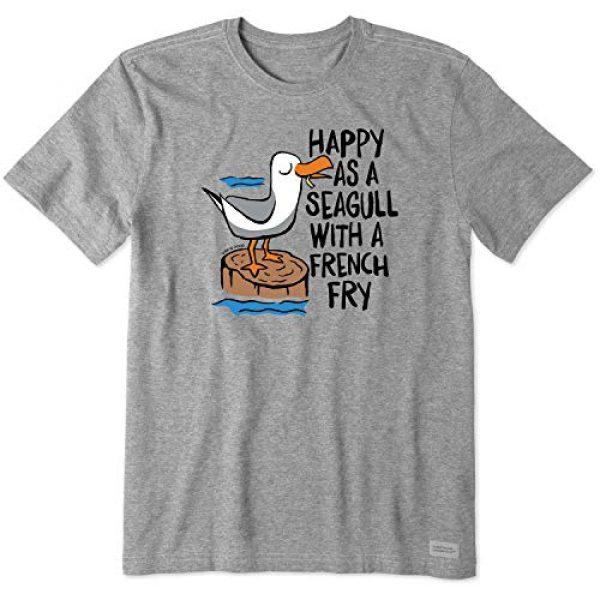 Life is Good Graphic Tshirt 2 Mens Crusher Beach/Ocean Graphic T-Shirt
