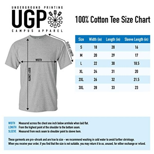 UGP Campus Apparel Graphic Tshirt 7 Schwifty Funny Graphic Mens T-Shirt