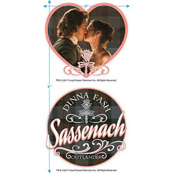 Popfunk Graphic Tshirt 3 Outlander Dinna Fash Sassenach T Shirt & Stickers
