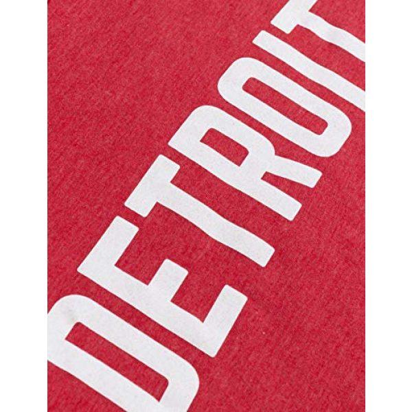 Ann Arbor T-shirt Co. Graphic Tshirt 5 Detroit | Classic Retro City Grey Blue Red Black Detroiter 313 Cool Michigan Men Women T-Shirt