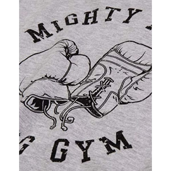 Ann Arbor T-shirt Co. Graphic Tshirt 5 Mighty Mick's Boxing Gym 1976 | Philadelphia Boxer Vintage Style Gloves T-Shirt
