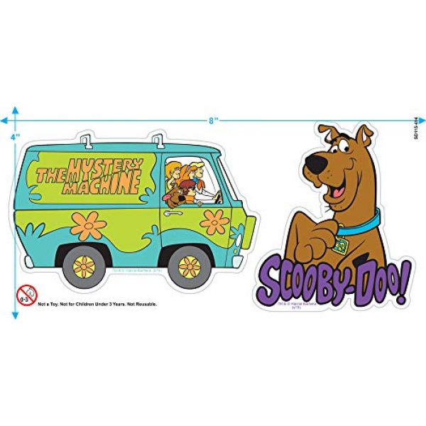 Popfunk Graphic Tshirt 3 Scooby-Doo Ruh-Roh! Heather T Shirt & Stickers