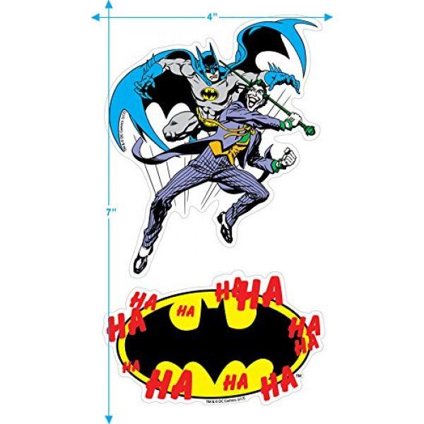 Popfunk Graphic Tshirt 3 Batman Vs.The Joker You Mad Bro T Shirt and Stickers