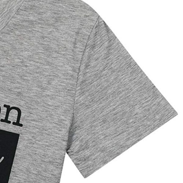 MAXIMGR Graphic Tshirt 6 I Run On Coffee Chaos Cuss Words T Shirt Women Funny Short Sleeve T-Shirt Mom Gift