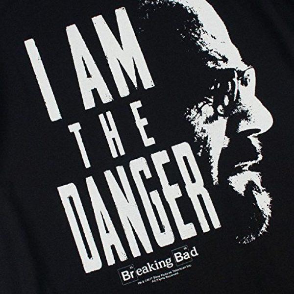 Popfunk Graphic Tshirt 5 Breaking Bad The Danger T Shirt & Stickers (Medium)