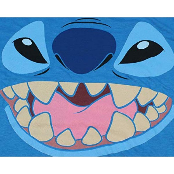 Disney Graphic Tshirt 2 Lilo And Stitch Juniors Stitch Face Character Graphic Licensed T-Shirt