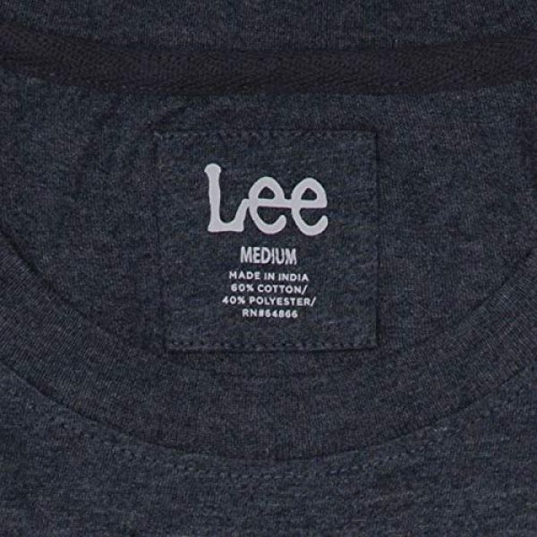 Lee Graphic Tshirt 3 Mens Graphic T-Shirt | Short Sleeve, Crew Neck, Breathable Cotton, Tagless, Printed Tee | S - XXL