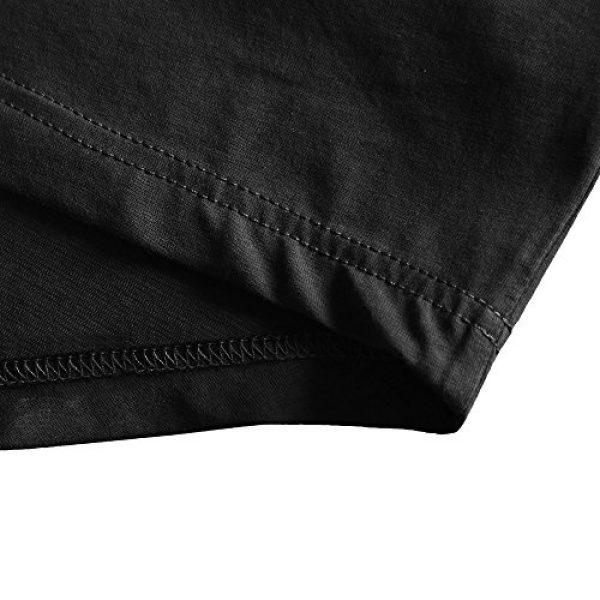 Zecmos Graphic Tshirt 5 Mens Deep V Neck T-Shirt Unisex Tshirt Male Vneck Tee Top