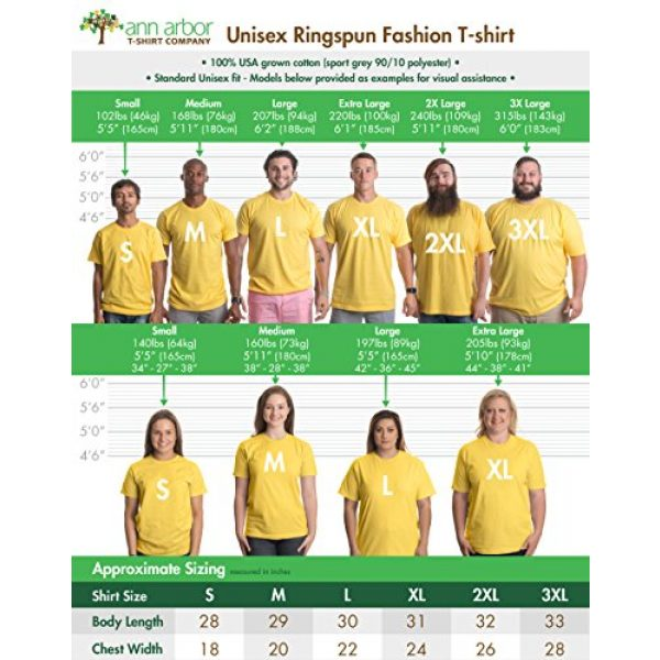 Ann Arbor T-shirt Co. Graphic Tshirt 6 Smiling Face   Cute, Positive, Happy Smile Fun Teacher T-Shirt for Men or Women