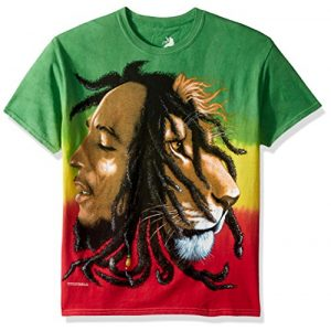 Bob Marley Graphic Tshirt 1 Men's Profiles Tie Dye T-Shirt