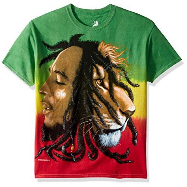Bob Marley Graphic Tshirt 1 Men's Profiles Tie Dye T-Shirt