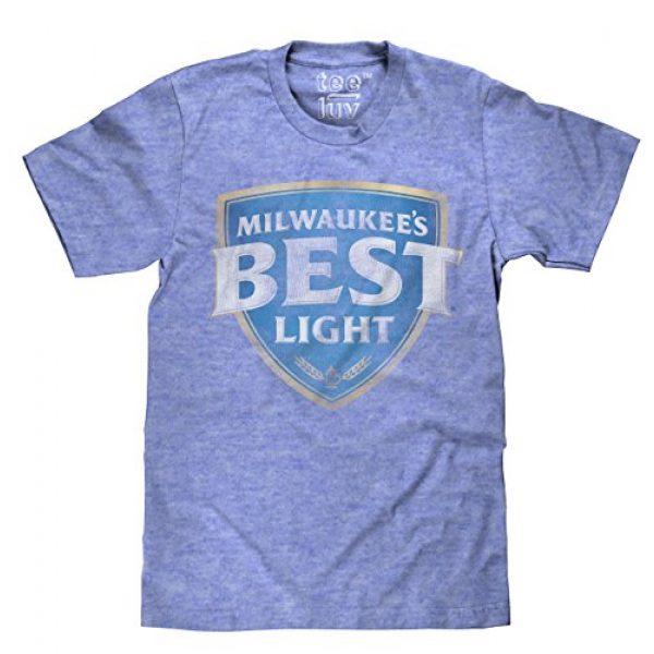 Tee Luv Graphic Tshirt 1 Milwaukee's Best Light T-Shirt - Millwaukees Best Beer T-Shirt
